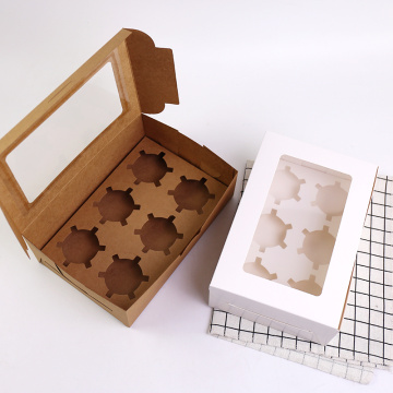 Kraft Biscuits Netto Caja de papel con ventana transparente