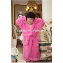 2015 OEM High Quality Soft Kids knee length bathrobe