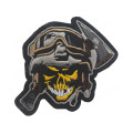 Gummi Cool Funny Badges Motorrad Stickpatches
