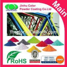 Electrostatic polyester powder coating for park equipment