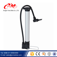 Portable bicycle tire pumps / mini hand operated air pump for mountain bike / hand air pump for inflatables
