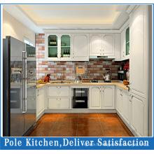 Cabinet de cuisine en PVC à chaud de 2016