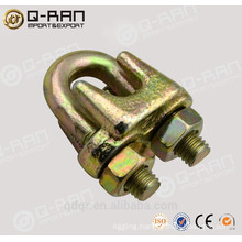 Galvanized malleable Type A wire rope clip rigging hardwear
