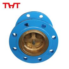 Flange ends 1spring cast steel non return check valve / sanitary non return valve
