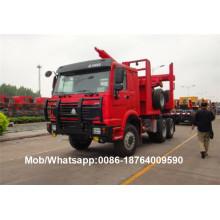 Camion de transport de bois Howo Log Transportation