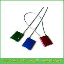 Уплотнение кабеля (JY3.0TZ) , металлические пломбы, пломбы безопасности