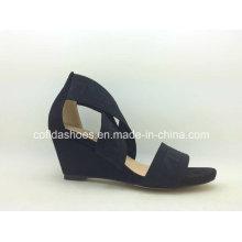 Black Classic Simple Lady Fashion Sandal