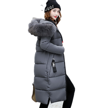 Damen Warm Winter Hooded Plus Size Daunenjacke