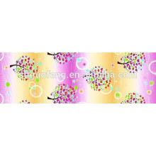 T / C 50/50 imprimé personnalisé polyester / coton imprimé tissu pour drap de lit