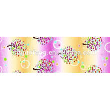 Т/с 50/50 пользовательские печати полиэстер/хлопок набивные ткани для простыни