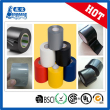 Cinta de embalaje de tubo negro PVC