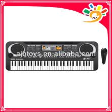 Batteriebetriebene Tastatur elektronische Tastatur mit Mikrofon