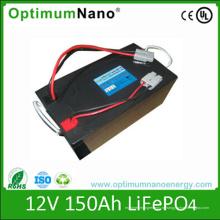 Глубокого цикла 12V 150ah батареи литиевая батарея для приложений РВ