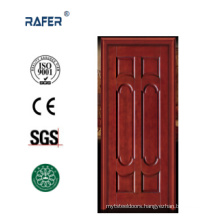 Six Panel Natural Wooden Door (RA-N032)