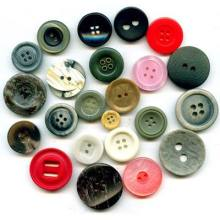 Fashion cute handmade polyester button for clothing