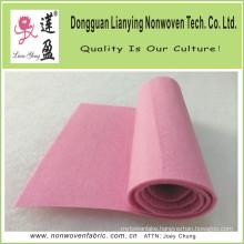 Nice Pink Needle Punch Felt for Handicrafts