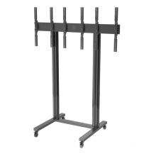 """Video Wall Stand Portrait 3-Screen 40-55"""" (1*3) (AWP 300)"""