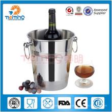 Venda quente barware / baldes de gelo de aço inoxidável / refrigerador de champanhe