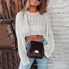 Mesh Cut-out Sweater Bikini Beach Casual Top
