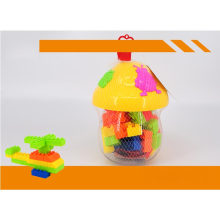 Gift Brinquedos Educativos Cogumelo Jar Building Blocks