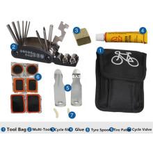 2016 Neue Fahrrad-Reparatur-Werkzeug-Satz-Installationssatz mit beweglicher Beutel