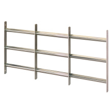 Galvanized Steel Security Adjustable Window Bar