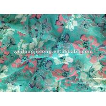 """100% polyester chiffon printed 58"""" stock fabric"""