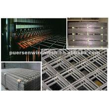Panel de malla soldada de acero pesado