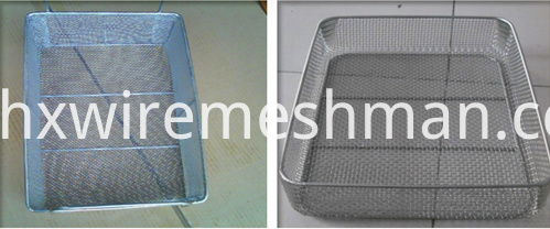 metal freezer baskets