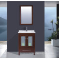 Gabinete de baño de madera maciza (B-285)