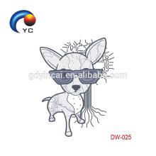 Autocollants de tatouage temporaire imperméable à l'eau pour enfants en gros