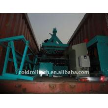 Máquina de prensagem de deck de piso de aço