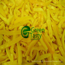 IQF Frozen Fresh Yellow Pepper Slices in High Quality