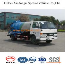 4cbm Jmc Sewage Suction Tanker Truck