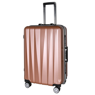 Abs spinner traveling luggage troli