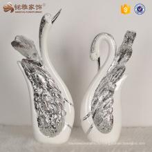 Дома украшения пара лебедь статуэтки смола ремесла Свадебные подарки