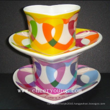 coffee Cup and Saucer (CY-P501A)