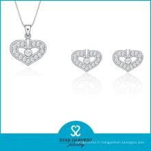 2016 en forme de coeur 925 bijoux en gros (J-0176)
