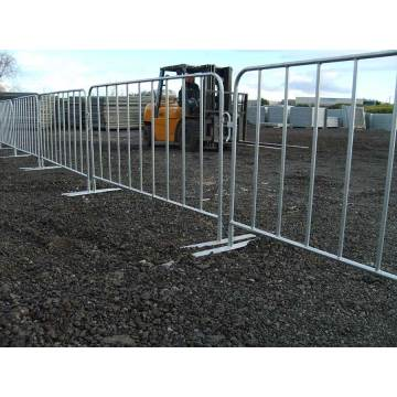 Powder Coated Metal Crowd Control Barrier Concert Crowd