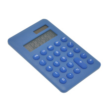 8 Digit Portable Calculator with Round Key