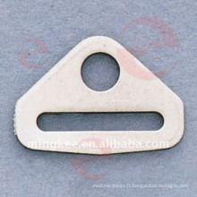Accessoires décoratifs du sac à main à boucle triangulaire (O33-646S)