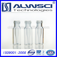 2ml 9-425 HPLC autosampler clear glass Vial with integrated 0.2ml Glass Micro-insert