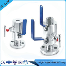 Dbb Valve Integral Double Block E Bleed Valve