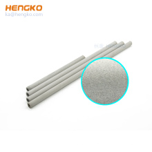 Custom stainless steel 316 sintered fine micro nano bubble tube diffuser for Lead-free reflow oven/wave soldering