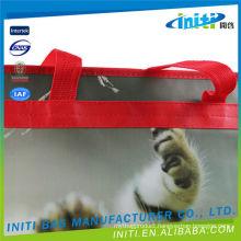 New design most popular 220 micron all screen zipper bags