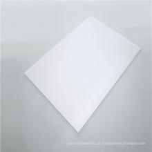 Flammhemmende transparente Polycarbonat-Vollplatte