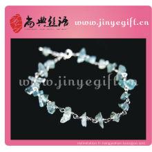 Guangzhou Fine Jewelry Handcrafted Ceintures en pierre de cristal de qualité