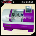 Heavy Duty metal con herramientas en vivo CK6150A CNC precio torno de la máquina