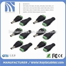 DC Power Jack Adapter Connector Plug Male/Female 2.1x5.5mm