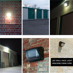 40W DLC ETL LED Wall Pack